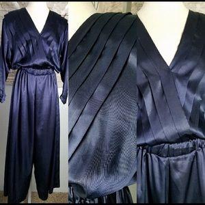 Vintage Victoria Secret Navy Jumpsuit